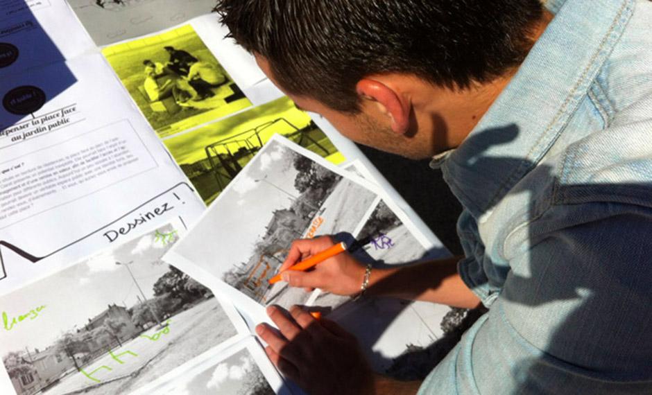 Création de projets d\'aménagements dans le lycée et à ses abords